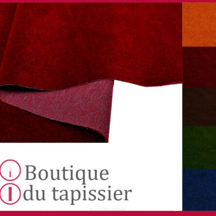 tissu velours arion boutique du tapissier simili cuir tissu d 39 ameublement toffe tissu. Black Bedroom Furniture Sets. Home Design Ideas