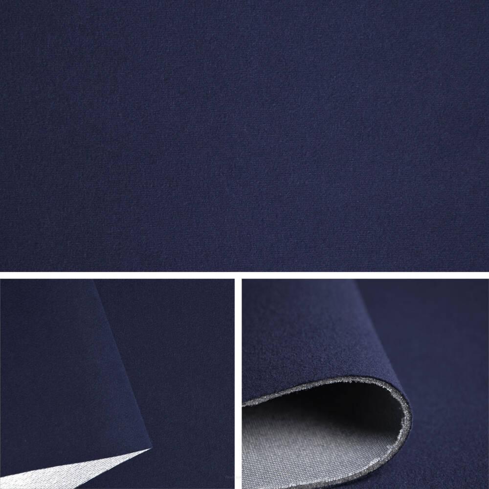 tissu velours couleur bleu marine sam189 02. Black Bedroom Furniture Sets. Home Design Ideas
