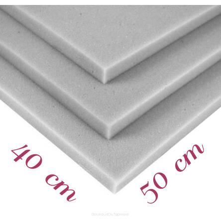 plaque de mousse polyur thane rg 25 44 40x50x3cm. Black Bedroom Furniture Sets. Home Design Ideas