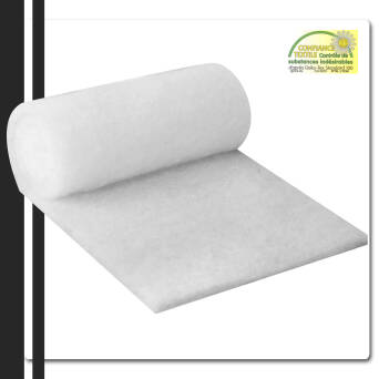 OUATE POLYESTER BLANCHE 200G/M2