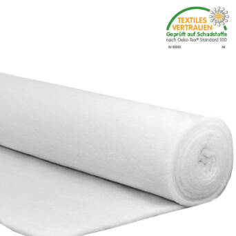 Rouleau de ouate polyester blanche 100g/m2