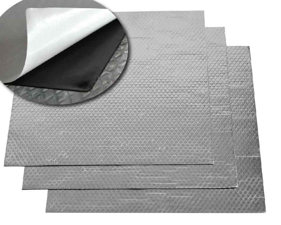 isolant phonique souple aluminis. Black Bedroom Furniture Sets. Home Design Ideas