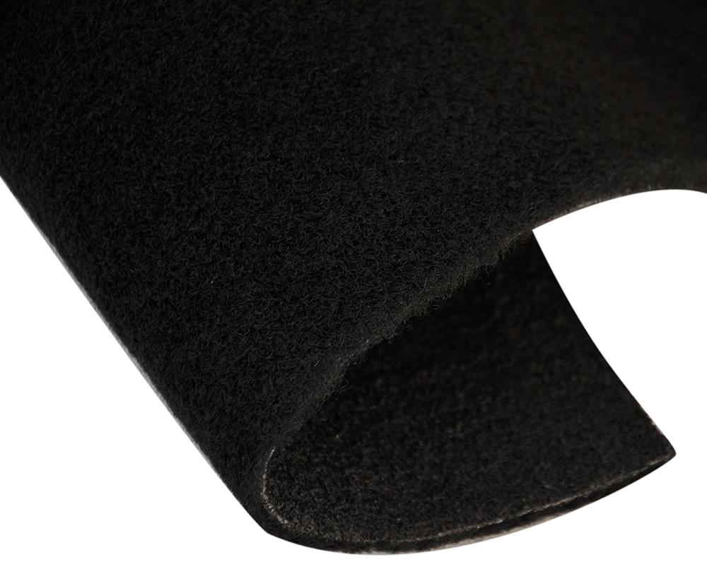 Moquette de luxe noir nouveau largeur 150 cm for Largeur voiture standard
